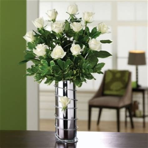 bright white cylinder vase arrangement in teaneck nj