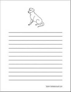 Dog Writing Paper Free Printable Paw Borders From Dogs Dog Breeds Picture