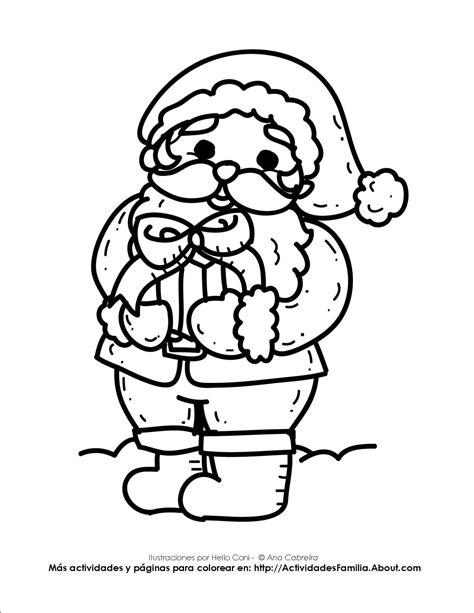 dibujos para pintar de navidad navidad para colorear dibujo santa claus my blog