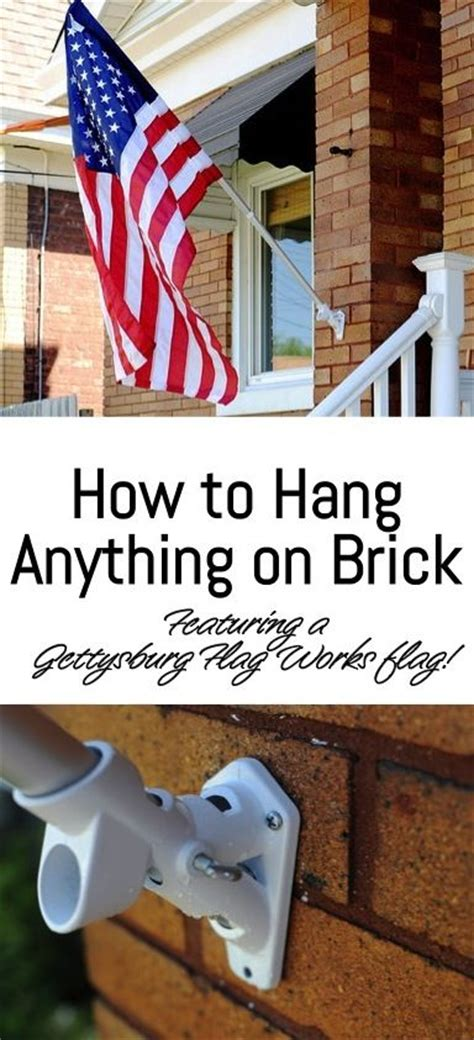 how to hang art on a brick or plaster wall how to hang anything on brick go haus go quot diy home