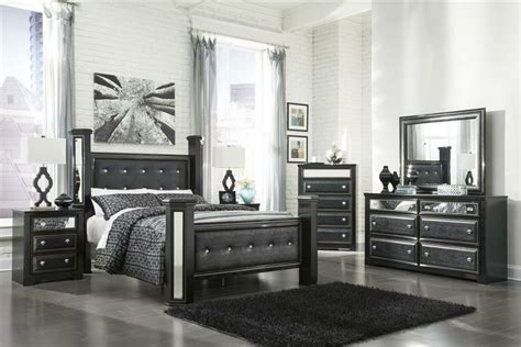 king master bedroom sets black faux leather alligator queen king master bedroom poster bed