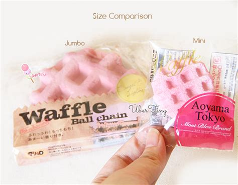 Mini Pink White Squishy Original With Packaging aoyama tokyo mini waffle squishy original packaging 183 uber tiny 183 store powered by storenvy