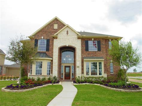 newmark homes sherlock plan traditional exterior