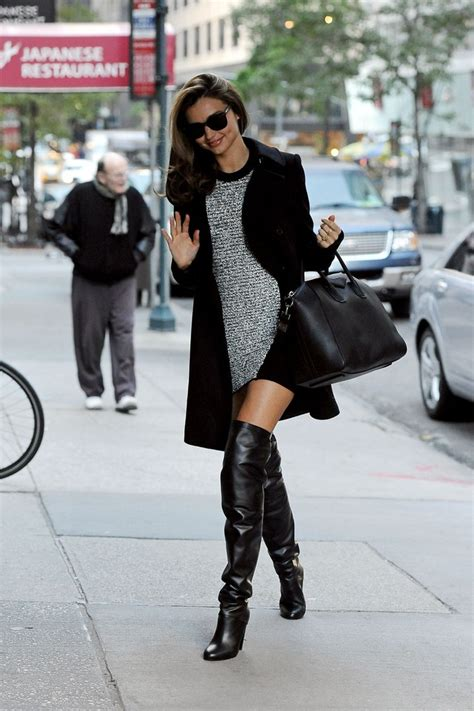 Guess Miranda Lace Dress more pics of miranda kerr the knee boots 3 of 16