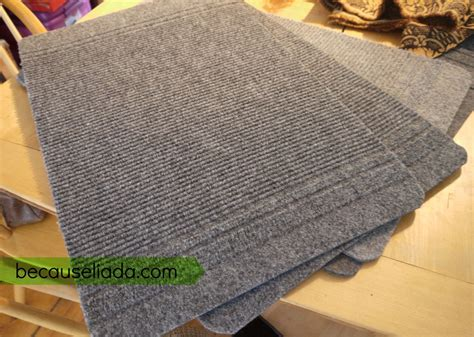 make a rug from carpet diy carpet stair treads