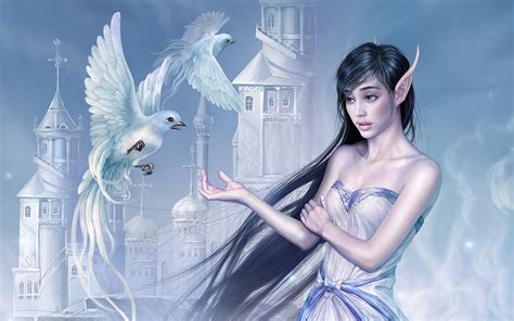 wallpaper elf girl elf girl wallpapers and images wallpapers pictures photos