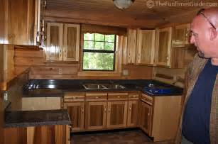 Log Kitchen Cabinets Log Home Kitchen Cabinets Kitchen Design Photos