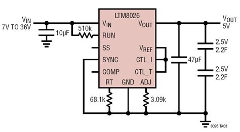 supercapacitor charger circuit solutions 36vin 5 6a two 2 5v series supercapacitor charger