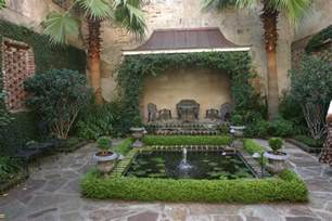 what is a courtyard a curious gardener southern courtyard gardens