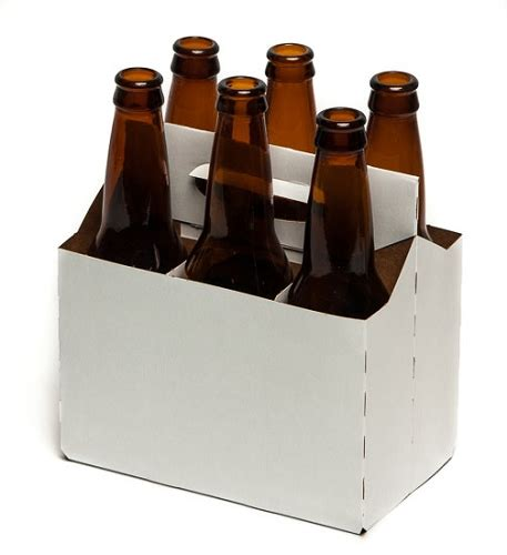 4 pack beer carrier template