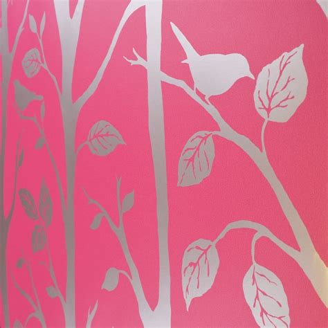 wallpaper pink uk shimmer harmony wallpaper pink silver ilw980015 from