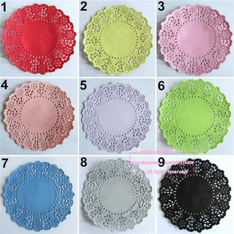 colored paper doilies 20pcs 4 5 inch total 23 colored vintage lace paper