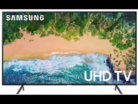 newest samsung 55nu7100 55 quot 4k uhd flat smart led tv 2018