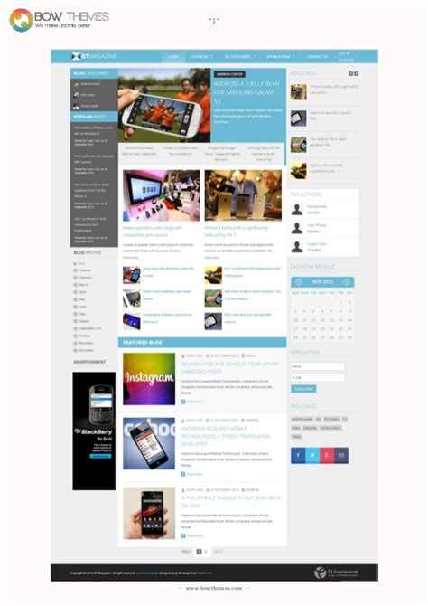tutorial template joomla 3 joomla tutorials to install and customize bt magazine