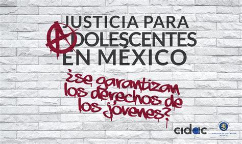 imagenes de justicia para adolescentes justicia para adolescentes en m 233 xico proyecto justicia