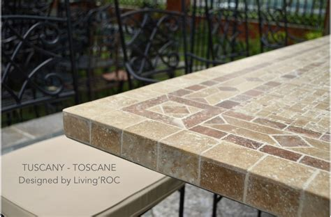 Granite Patio Tables 78 Quot Outdoor Patio Dining Table Italian Mosaic Marble Tuscany