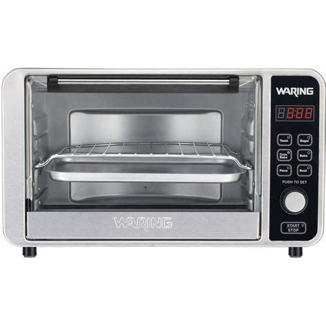 shop waring pro 6 slice convection toaster oven at lowes