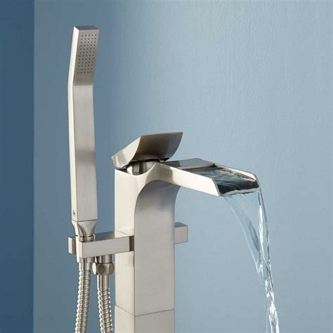 waterfall bathtub spout amazing and modern waterfall tub spout the decoras