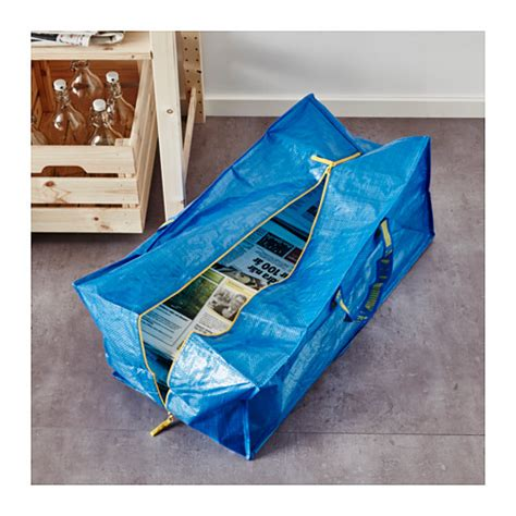 ikea frakta frakta trunk for trolley blue 76 l ikea