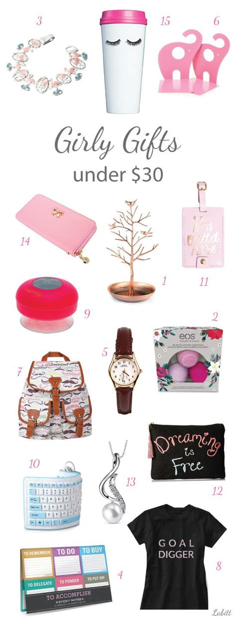 girly gifts for women under 30 college girls young