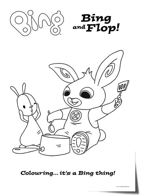 bing bunny coloring page bing bunny cbeebies coloring pages bing bunny