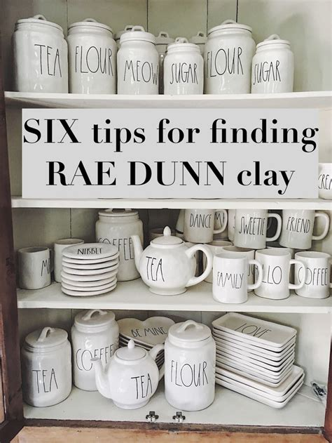 Six Tips For Finding Rae Dunn Pottery My 100 Year Old Home | 210 best rae dunn images on pinterest country kitchens