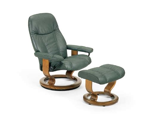Ekornes Stressless Ottoman Stressless By Ekornes Stressless Recliners Consul Small Reclining Chair And Ottoman Fashion