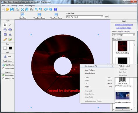 design with cover creator easy cd and dvd cover creator 4 11 diotepec