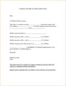 8 income letter bibliography format
