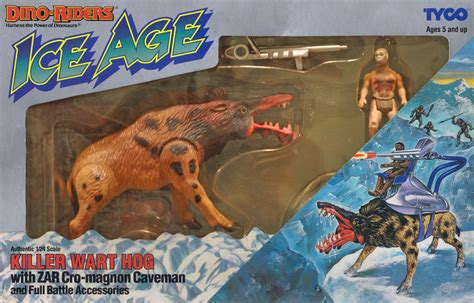 Arcade Basement by Toy Art Archive Dino Riders Series 4 Ice Age