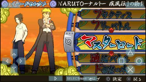 membuat game naruto kumpulan game naruto shippuden android ppsspp psp iso