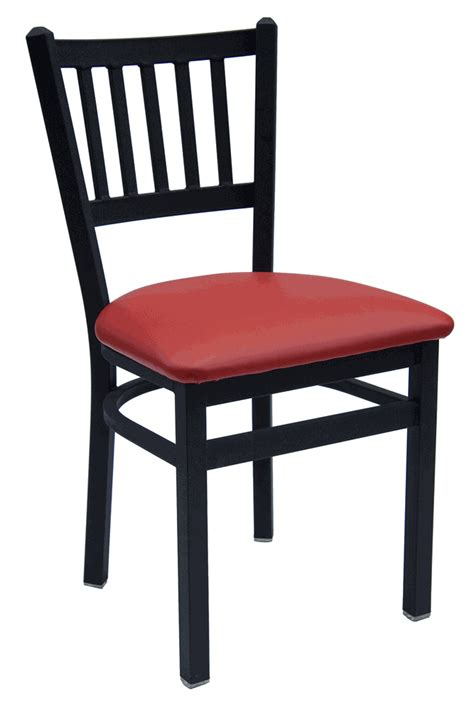 Commercial Chair by Slat Back Commercial Chair With Choice Of Seat Bar