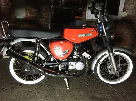 50ccm Motorrad Simson by Die Besten 25 Simson S51b Ideen Auf Pinterest S51