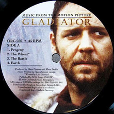 musique film gladiator hans zimmer film music site fran 231 ais gladiator bande originale