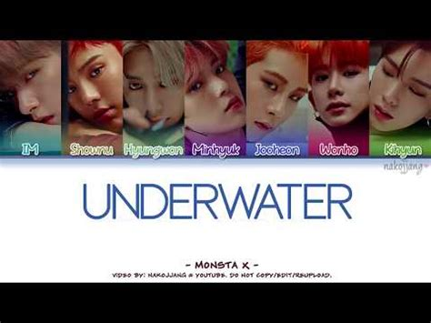 monsta x underwater lyrics mx