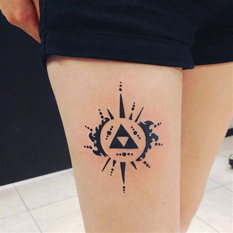 triforce tattoo 25 mighty triforce designs meaning discover the