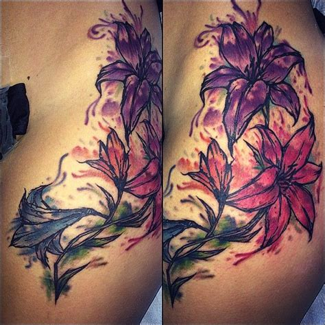 watercolor tattoos nc watercolor by quot sloo quot hamilton at blood