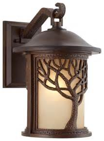 traditional outdoor lights arts and crafts mission bronze mission style tree 15