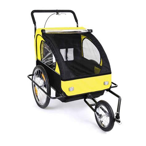 H Setelan Kid 2in1 2in1 fahrradanh 228 nger jogger kinderwagen jogger
