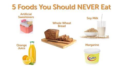 vegetables you should never eat beyond diet 5 foods you should never eat