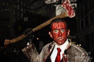 Zombie Shower Curtain The Axe Murderer Photograph By Nishanth Gopinathan