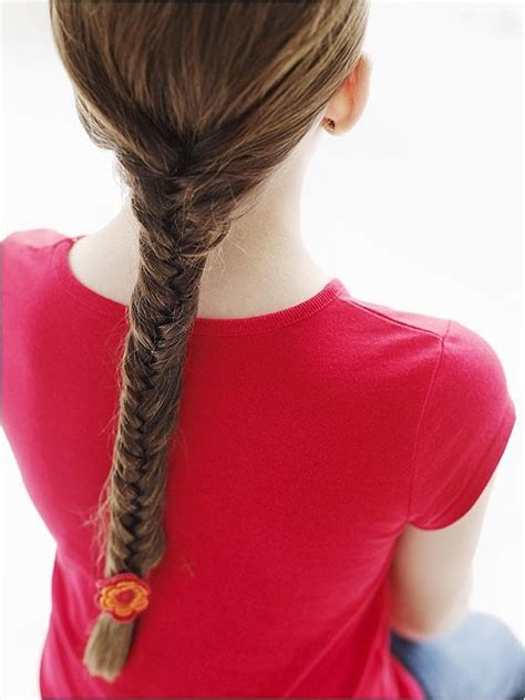 kids fishtail photo with hair added 16 cute hairstyles for girls hairstyles weekly