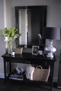 Tall Entryway Table Furniture Black Entryway Console Table With Storage And
