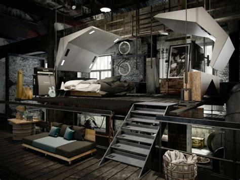 Decoration Industriel by Deco Industrielle Chambre