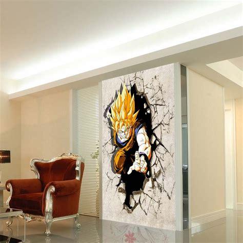 dragon ball z wallpaper mural cartoon tv background wallpaper living room children s