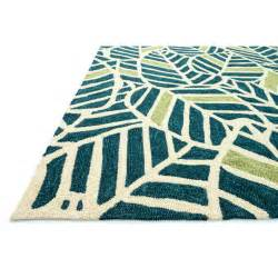 Tropical Outdoor Rugs Loloi Rugs Tropez Blue Green Tropical Inspired Indoor Outdoor Rug Reviews Wayfair