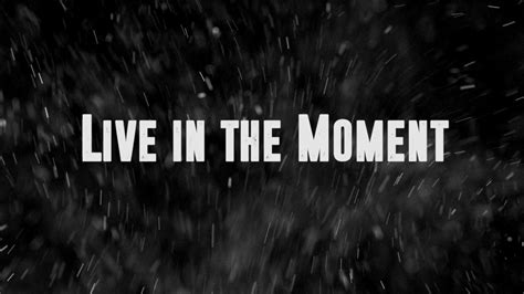 Liv In The by Live In The Moment