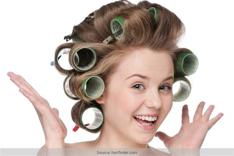 curly hairstyles using rollers here s the best way to curl hair with rollers to get those