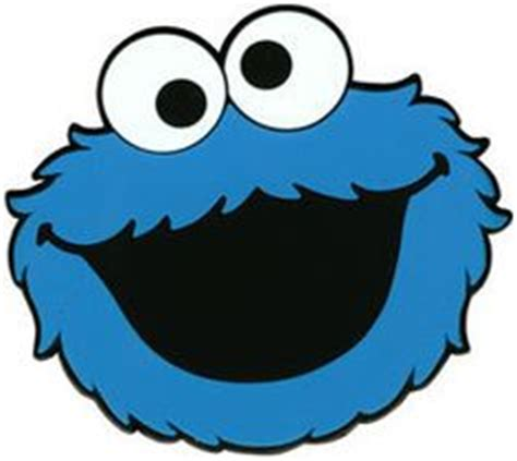 cookie monster cut out template google search party