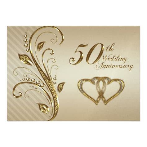golden wedding anniversary invitation card golden wedding anniversary clipart studio design gallery best design